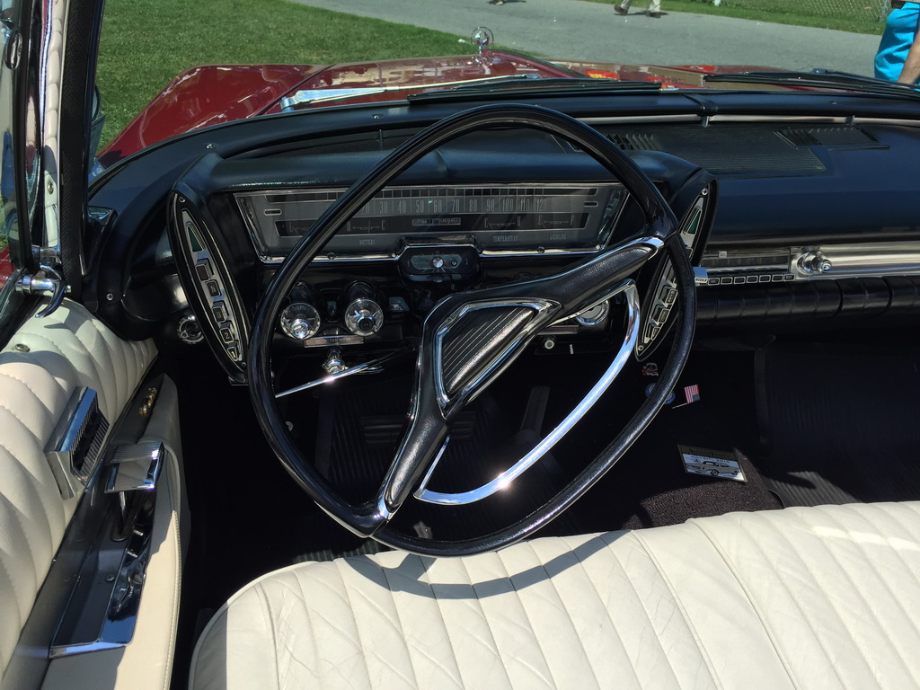 1962 Chysler Imperial convertible at 2015 Macungie show