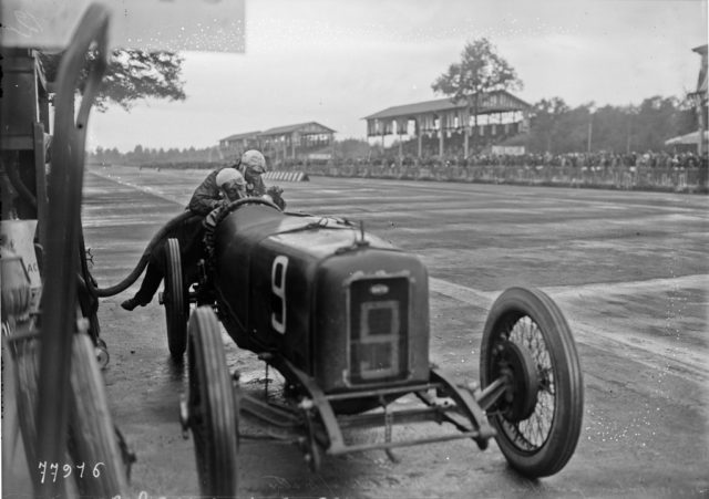 Guido_Meregalli_at_the_1922_Italian_Grand_Prix